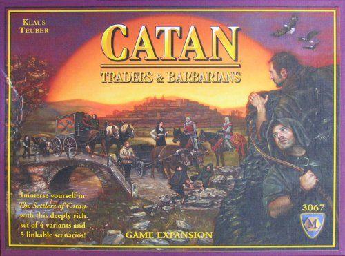 Catan: Traders and Barbarians Expansion MayFair Games,http://www.amazon.com/dp/B00187MWH8/ref=cm_sw_r_pi_dp_TrzAsb1VV3FJBP9R