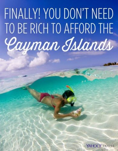 Finally! You Don't Need To Be Rich To Afford The Cayman