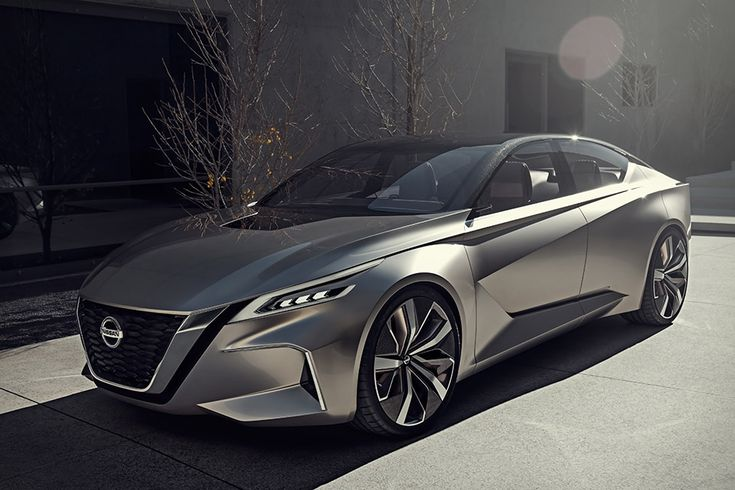 Named for the signature front end design of many current Nissan vehicles, the Nissan Vmotion 2.0 is a look at the company's motoring future. A true blue-sky concept, it has a host of forward-thinking features, such as a front emblem...