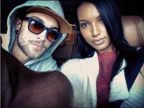 Gorgeous couple - Models Jasmine Tookes and Tobias Sorensen    #Interracial couple #Bwwm