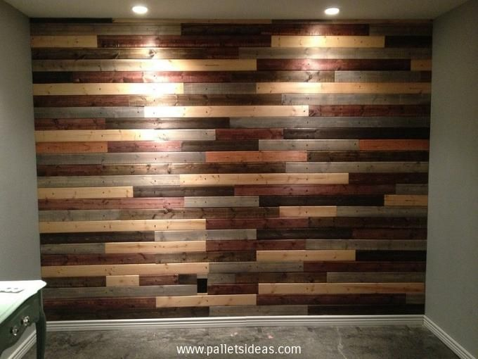 We have some new ideas for pallet wall decoration design which have different attractive color scheme and design firstly select the wall of your house