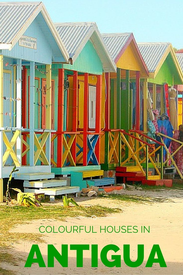 Colorful Caribbean Houses Images