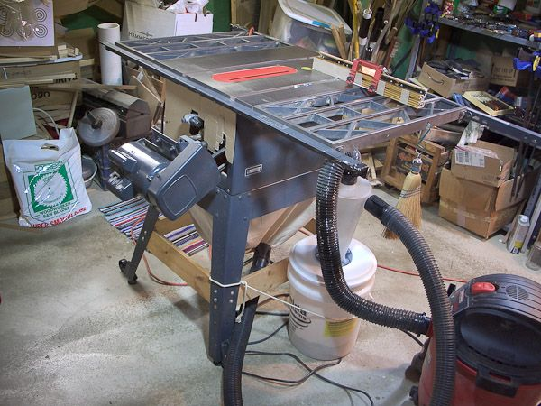 Perfect Slightly OT   Table Saws And DIY Dust Collection   Techtalk Speaker  Building, Audio,
