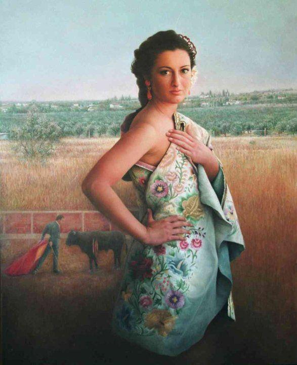 Maria Jose Aguilar Gutierrez 1964 | Realist symbolist painter