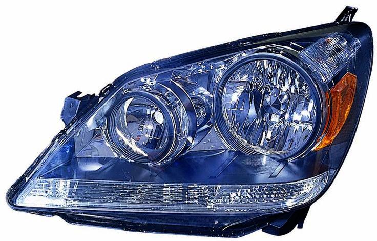 2005-2007 Honda Odyssey Halogen Driver Headlight New: 2005-2007 Honda Odyssey Halogen Driver Headlight New #CarHeadlights #AutoHeadlights