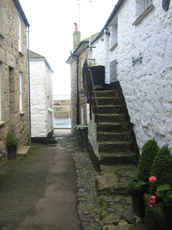 DUCK STREET: Mousehole, Cornwall. ✫ღ⊰n