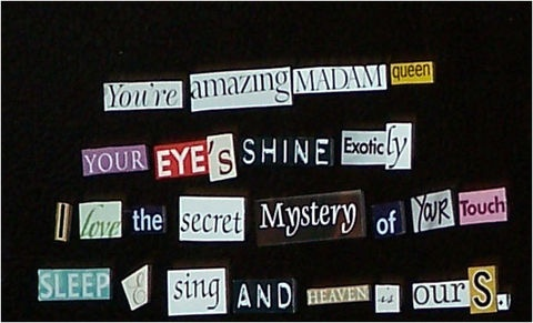this would be a good project for the kiddos - DIY Magnetic Poetry Set