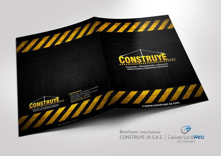 Compañía: Construye JA S.A.S. País: Colombia  Diseño: Brochure - Vista Exterior