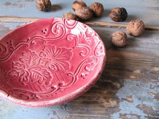 Apacuka ceramics – régi festőhengerrel mintázott színes kerámiák