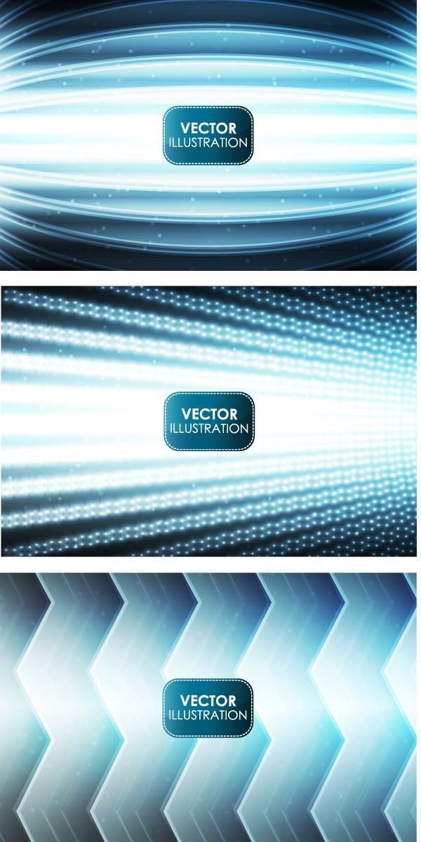 Vector abstract backgrounds, EPS 10