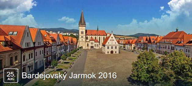Všetky podrobné informácie o podmienkach a organizácií bardejovského jarmoku, august 2016