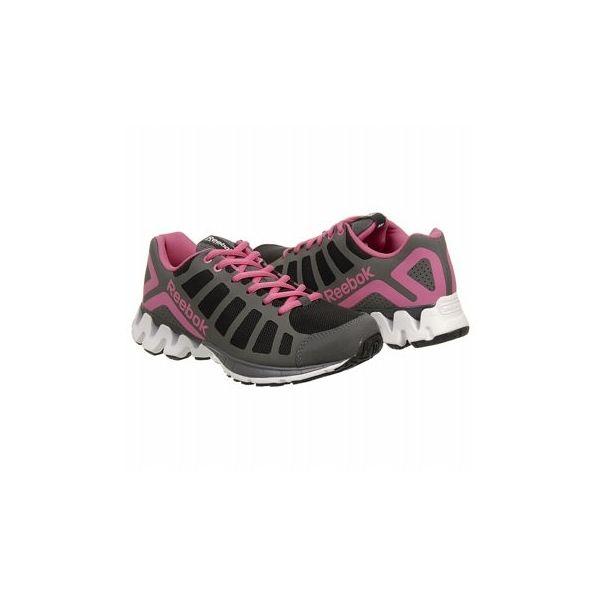 Reebok Women's Zig Kick Shoes (Black/White/Pink)