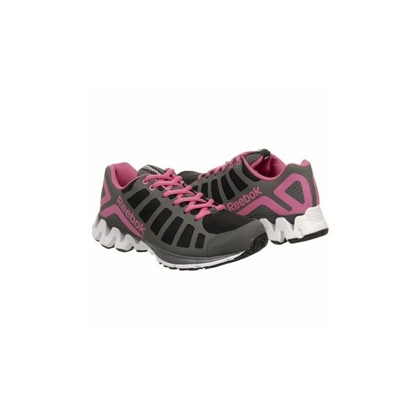 Reebok Women's Zig Kick Shoes (Black/White/Pink)