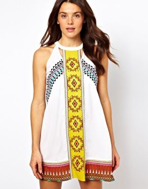 River Island Misha Mexican Dress from ASOS