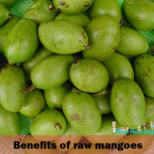 What are the Benefits of Raw mangoes