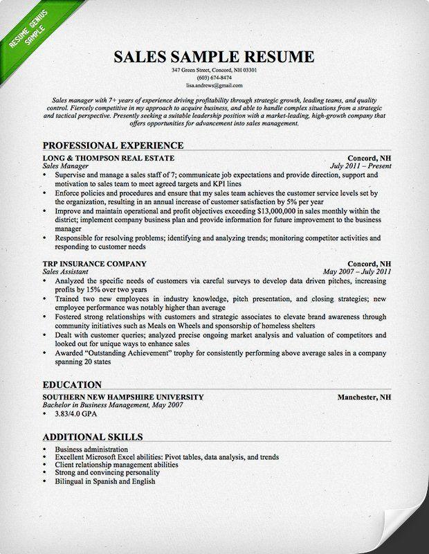 Resume Examples Insurance Teacher resume template
