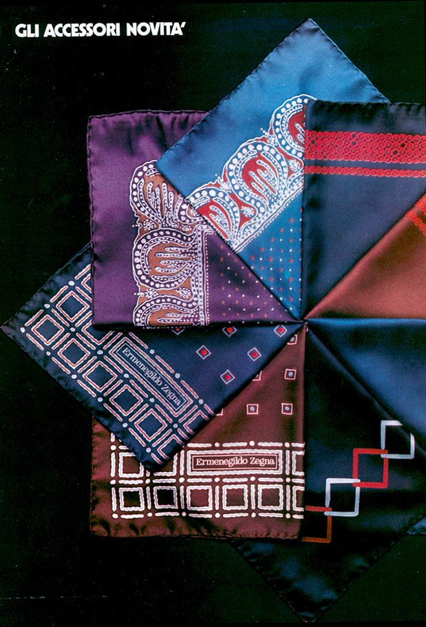 1972 - begins the production of ties and #accessories in Novara (Italy)