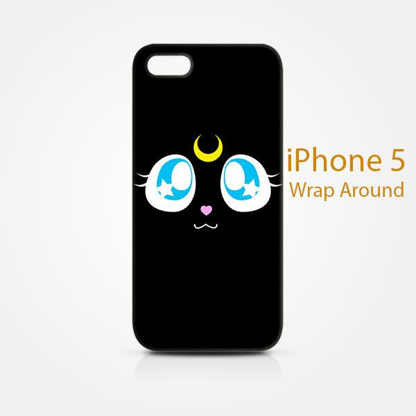 Luna Sailor Moon iPhone 5 5S 5SE Case Cover