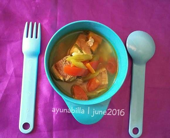 Sup+ikan+wortel+buncis+special+#mpasi+1y+