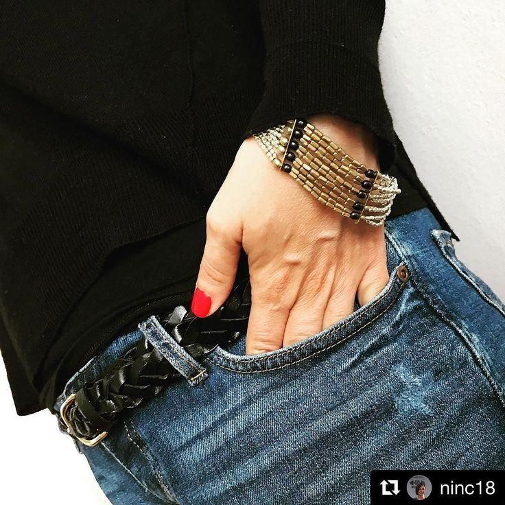 #Repost @ninc18 with @repostapp  Gorgeous Nina in I am Goddess ThatZebra bracelet  via @ninc18 tap link in bio for yours #thatzebrajewellery #fashion @thatzebraclothing #thatzebra #giftforher #womenwithstyle
