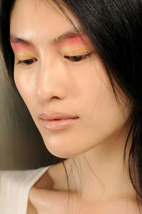 Runway Sp Sum 2013 : Raw Pastel Ombré Play with high graphic colors this season…