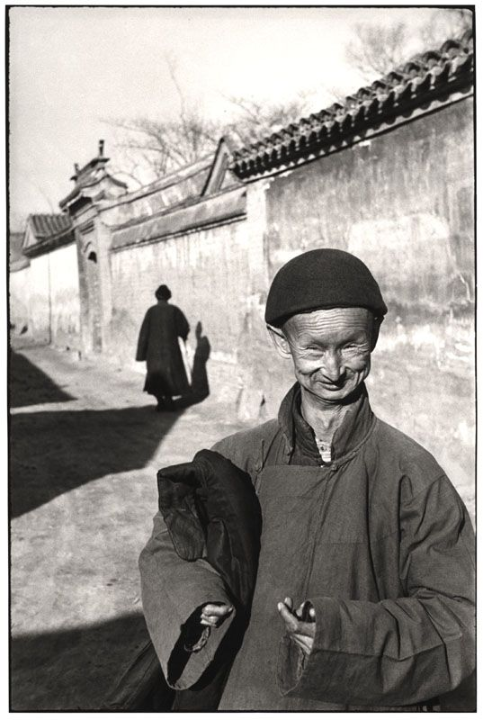 Henri Cartier-Bresson - Eunuch of the imperial court of the last dynasty, Peking, 1949
