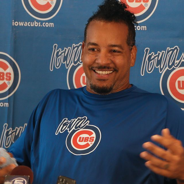 The controversial slugger's tenure as a player-coach with the Iowa Cubs has come to an end, manager Marty Pevey said before Friday's game at Principal Park.