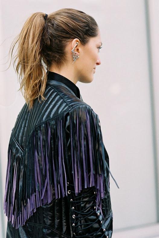 I love franjas - Vanessa Jackman: New York Fashion Week AW 2013....Sofia