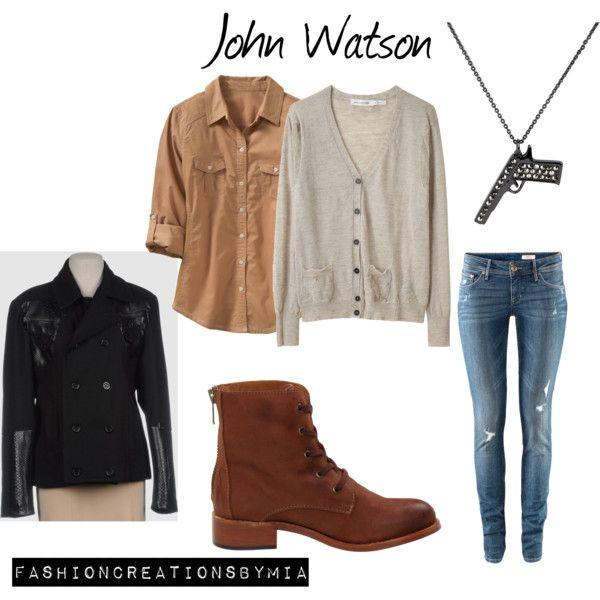 John Watson BBC, created by ohana13 on Polyvore