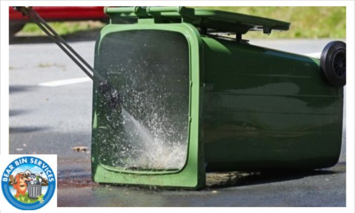 Wheelie #bins can be cleaned with this professional #cleaning service, which aims to use biodegradable cleaning and sanitising products bearbinservices.com #cleancans #trashcancleaning #CleanBins  #cans #clean #residential #commercial #safe