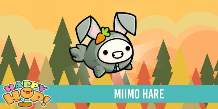 MIIMO HARE Get it in the game happy hop its free