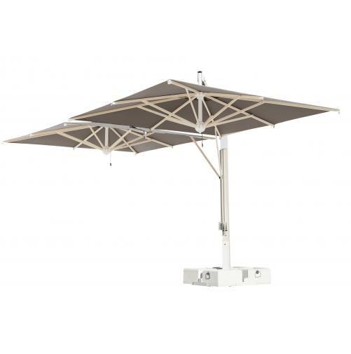 Зонт двухкупольный без волана, Milano Poker/Double, 3000х6000 мм