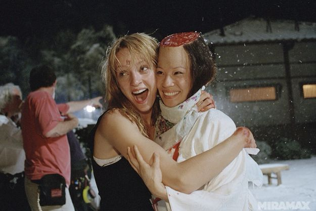 lucy liu assassin | Incredible 'Kill Bill, Vol. 1′ Behind-the-Scenes Photos You May ...