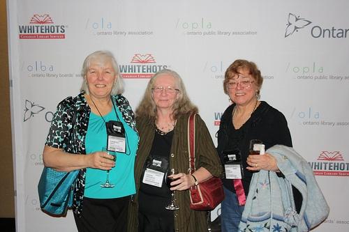 Frances Smith, Cathy Anderson, Donna Wigmore