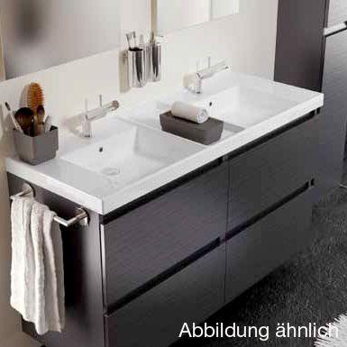 Mer enn 25 bra ideer om Doppelwaschtisch mit unterschrank på - unterschrank küche 60 cm