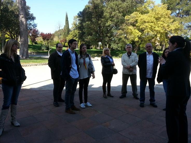 Los fans de Anna visitan las Bodegas Codorníu (Sant Sadurní d'Anoia)