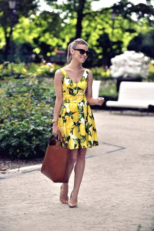 fit and flare dress + sunnies