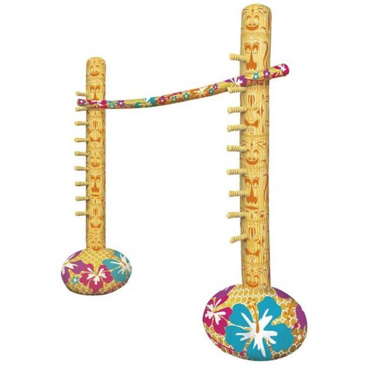 Activités amusantes pour différentes occasions : Aprèm à la plage, fêtes Hawaïennes , Party à la piscine, anniversaires... Facile à installer, il faut simplement gonfler puis jouer !