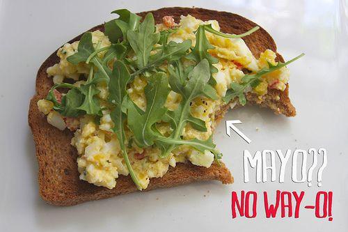 Fantastic Mayo-Free Egg Salad Sandwiches