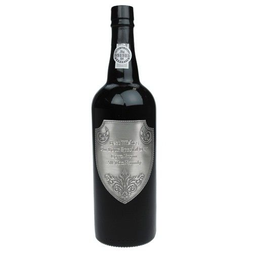 LBV Port with Engraved Pewter Label  from www.personalisedweddinggifts.co.uk :: ONLY £44.99