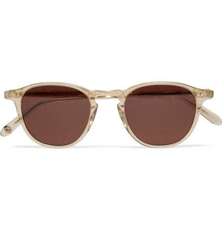 Garrett Leight California Optical Hampton D-Frame Acetate Sunglasses | MR PORTER