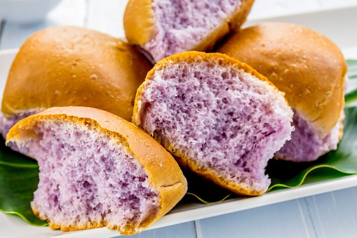 """You've tried purple potatoes, purple cauliflower, and purple Skittles. Maybe you've even had butterfly pea flower tea. But purple bread? Before you assume it's some artificial food-coloring-doused, chemical-laden snack food, consider these facts about what's being hailed as one of the healthiest breads you can (almost) find.[listicle number=""""1"""" title=""""It was created by an academic.""""][/listicle]"""
