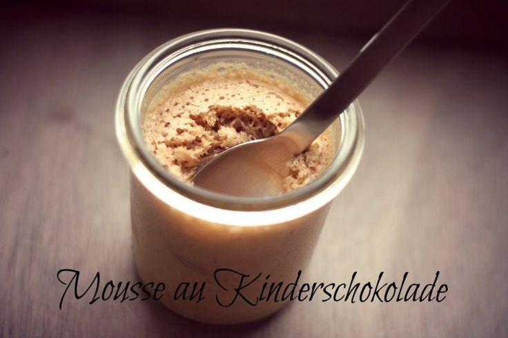 Mousse au Kinderschokolade