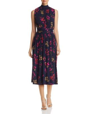 a89a86f5543 Chic Leota - Mindy Sleeveless Floral-Print Dress Womens Dresses from top  store