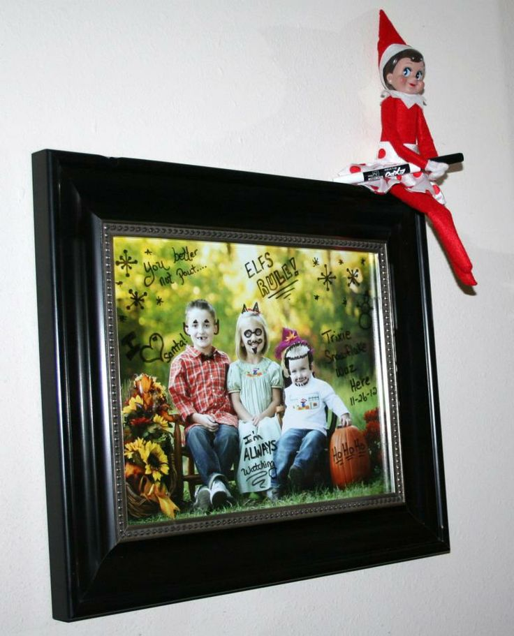 Elf on the shelf: Lutin, Drawings Silly