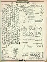 Image result for lace gloves crochet pattern
