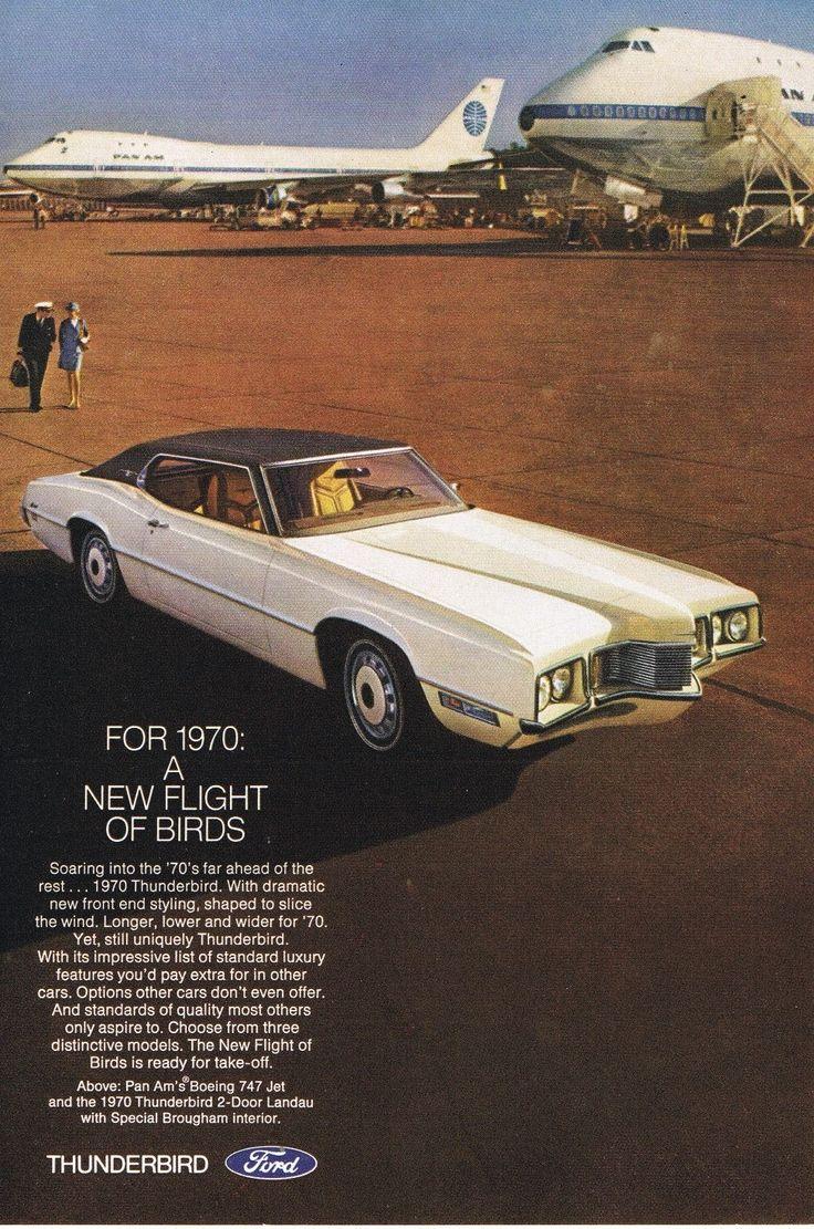 1970 Thunderbird advertising