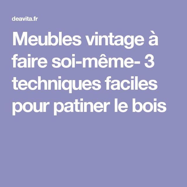 Best 25 ceruser un meuble ideas on pinterest bois et for Meubles a peindre soi meme