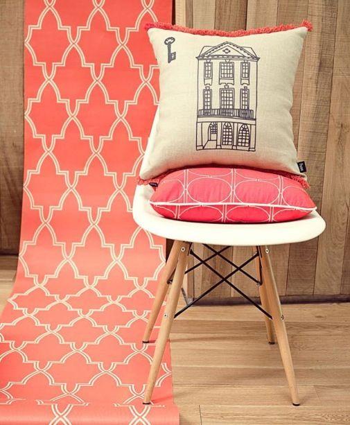 Añade un pop de color a tu casa | Papel tapiz de la marca argentina PICNIC en cañamiel