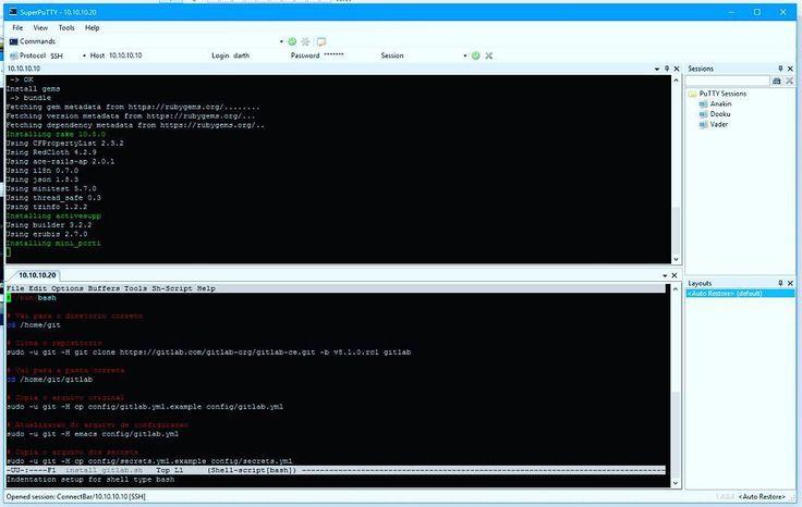 Fim de semana resumido #debian #linux #unix #emacs #server #ssh #git #gitlab #github #code #bash #gitgud #gitgood by thaalesalves